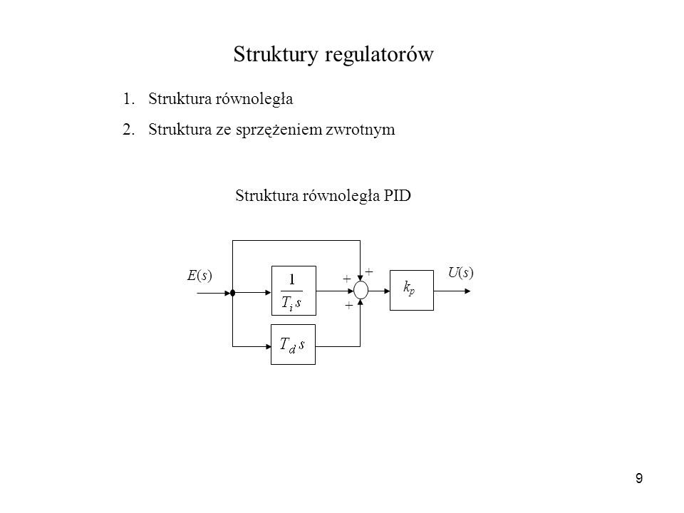 Struktury regulatorów