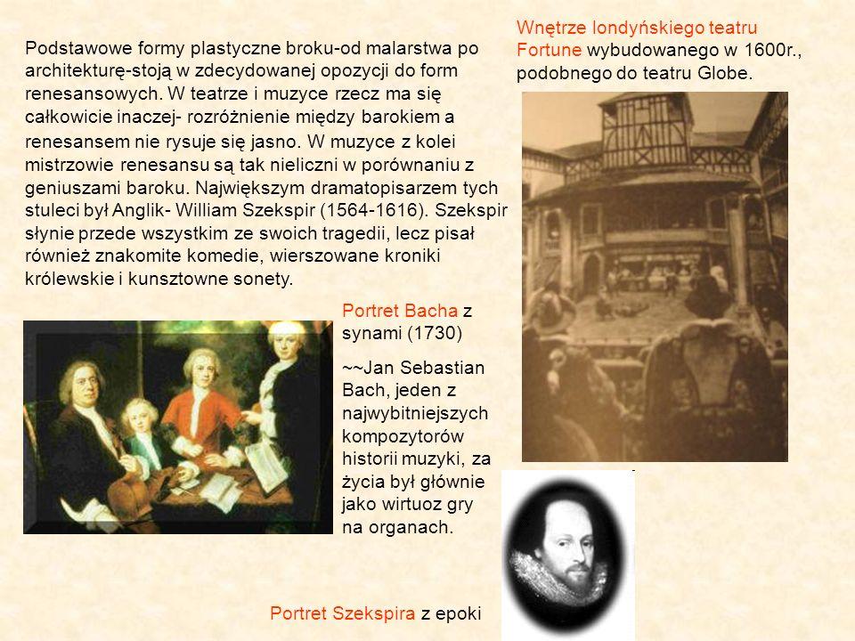 Portret Szekspira z epoki