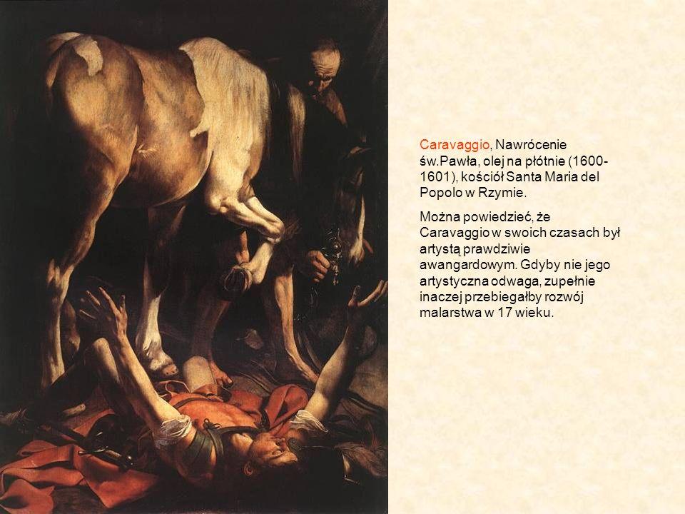 Caravaggio, Nawrócenie św