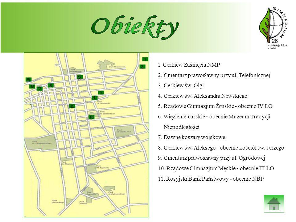 Obiekty 2. Cmentarz prawosławny przy ul. Telefonicznej