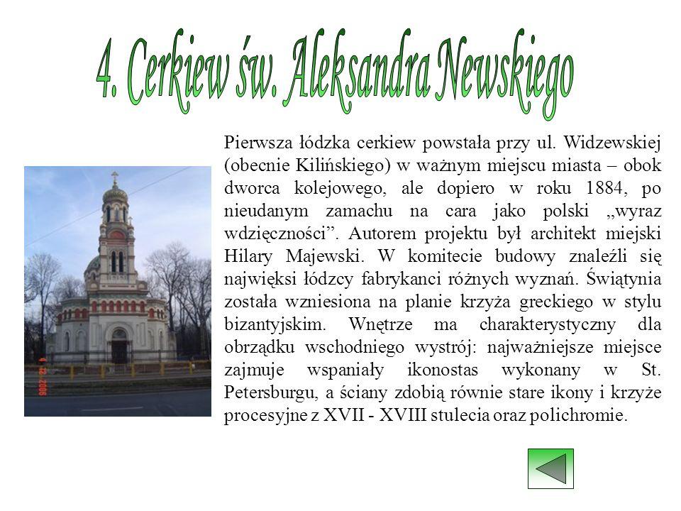 4. Cerkiew św. Aleksandra Newskiego