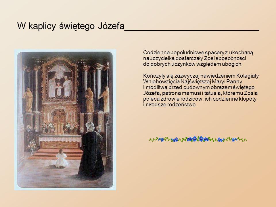 W kaplicy świętego Józefa__________________________