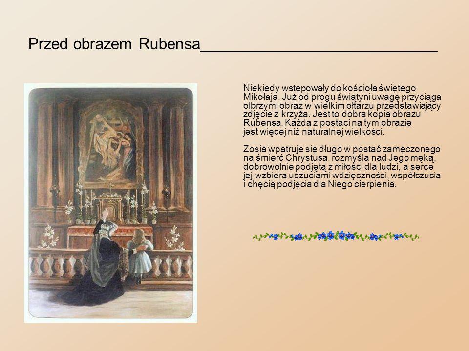 Przed obrazem Rubensa___________________________