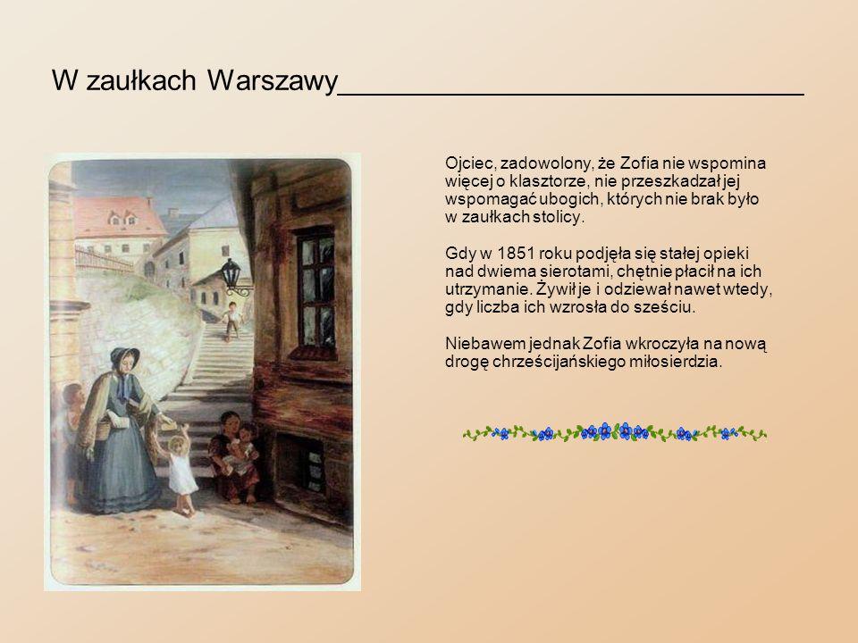W zaułkach Warszawy_____________________________