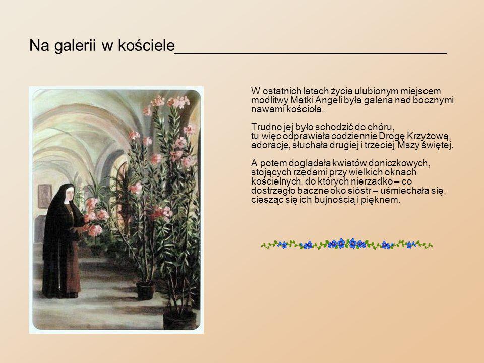 Na galerii w kościele______________________________