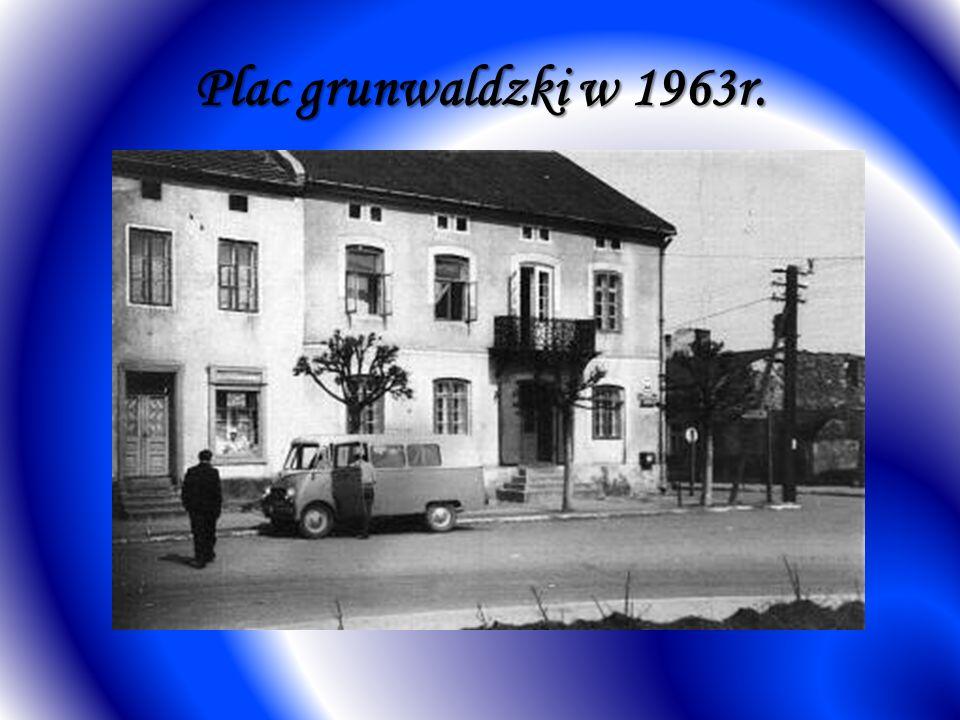 Plac grunwaldzki w 1963r.