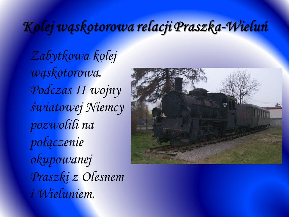 Kolej wąskotorowa relacji Praszka-Wieluń