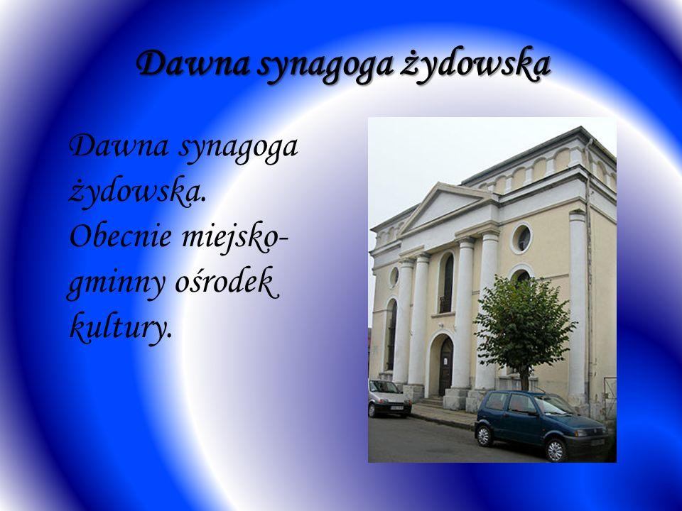 Dawna synagoga żydowska