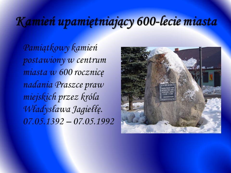 Kamień upamiętniający 600-lecie miasta