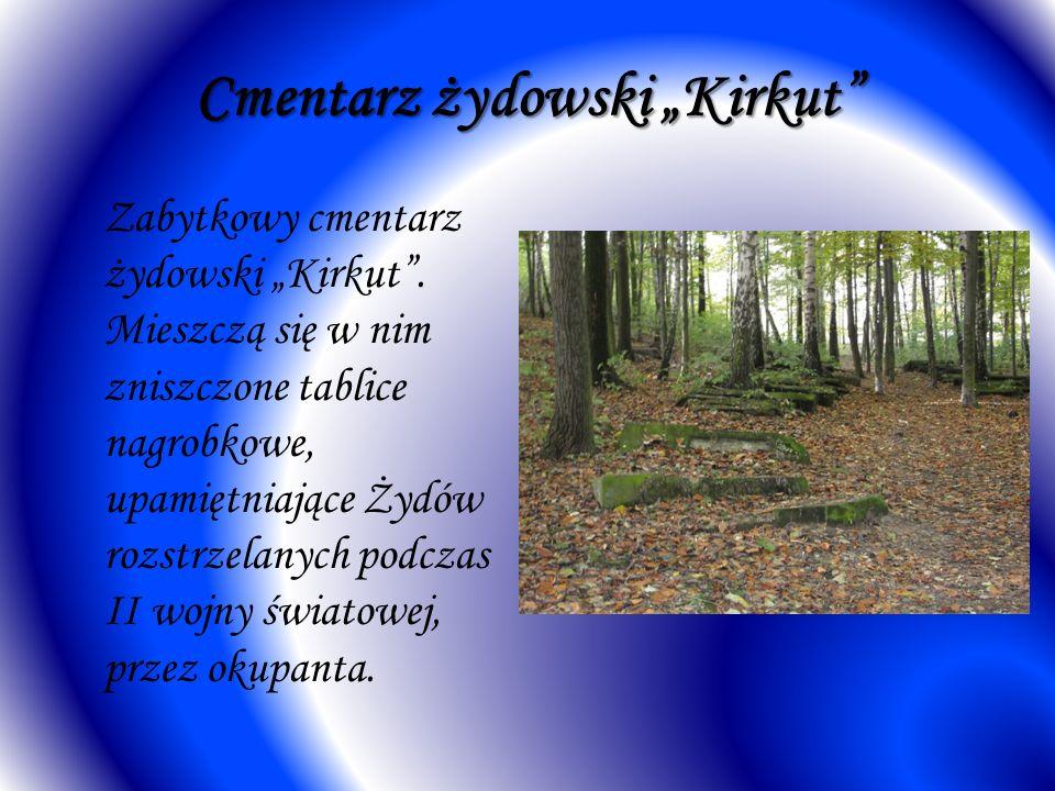 """Cmentarz żydowski """"Kirkut"""