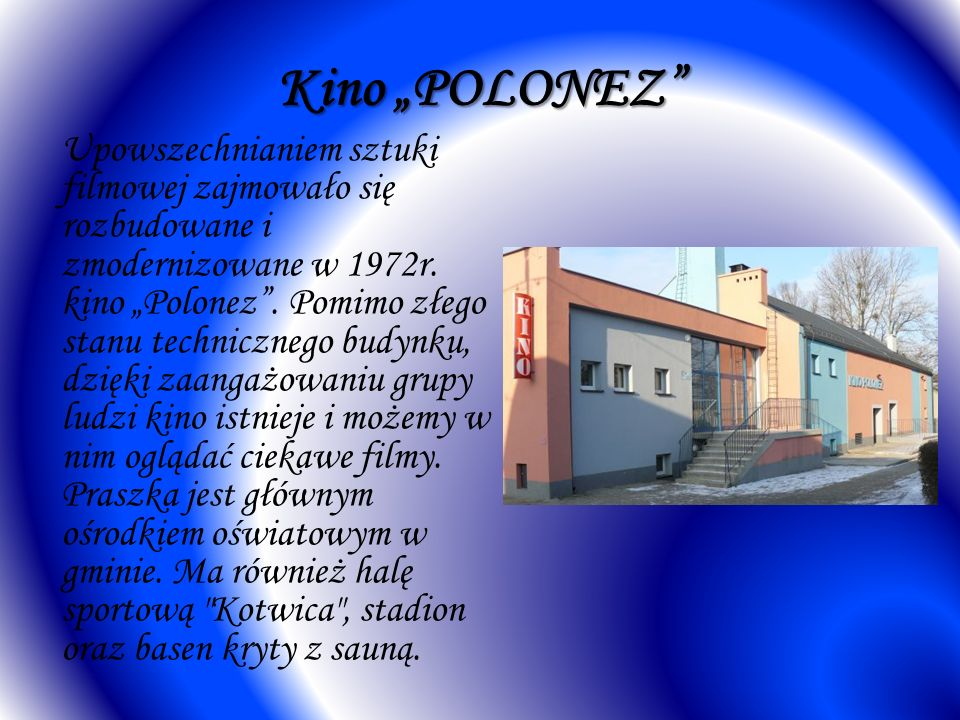 "Kino ""POLONEZ"