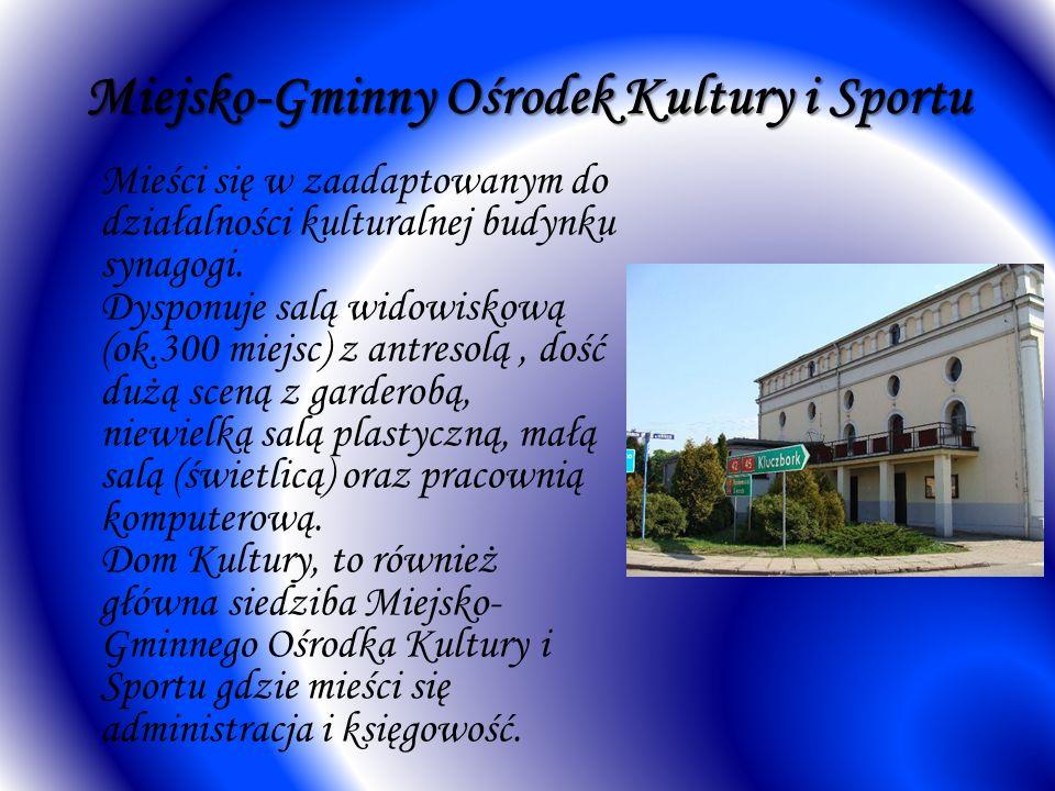 Miejsko-Gminny Ośrodek Kultury i Sportu