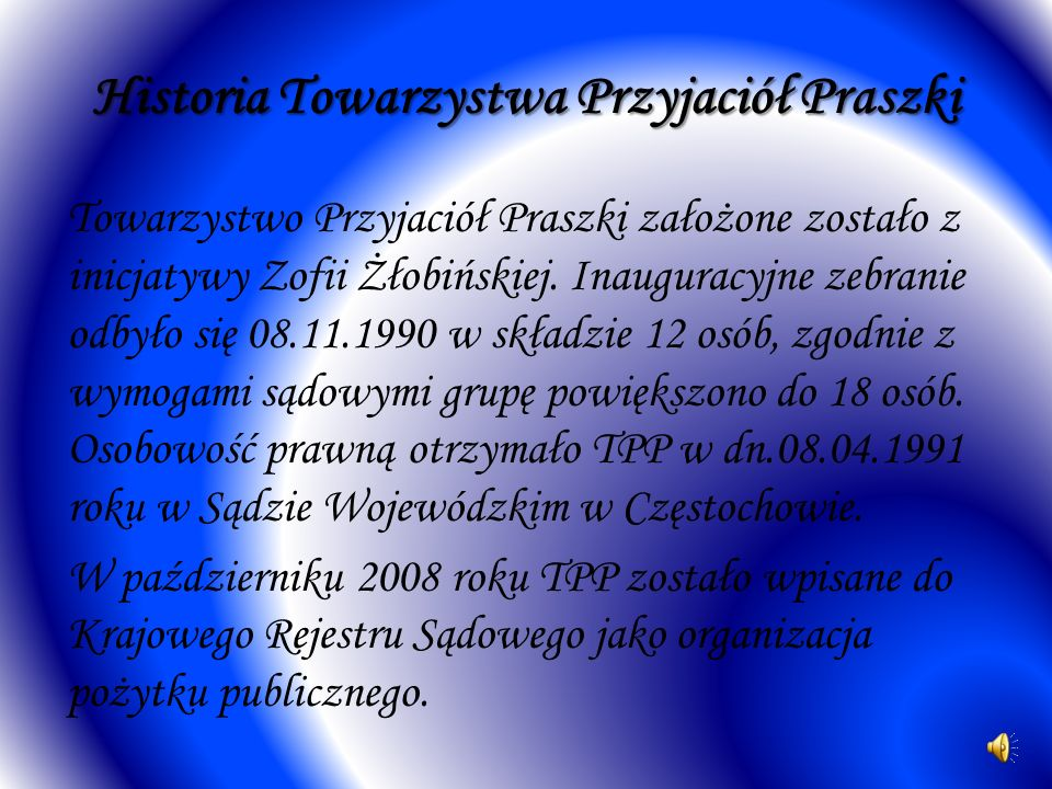 Historia Towarzystwa Przyjaciół Praszki