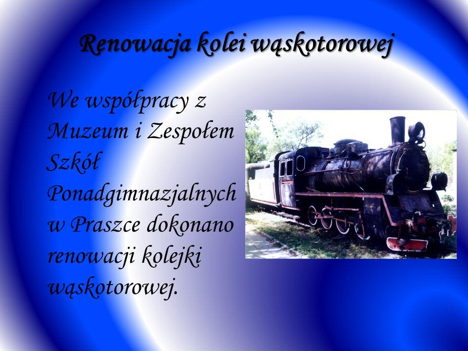 Renowacja kolei wąskotorowej