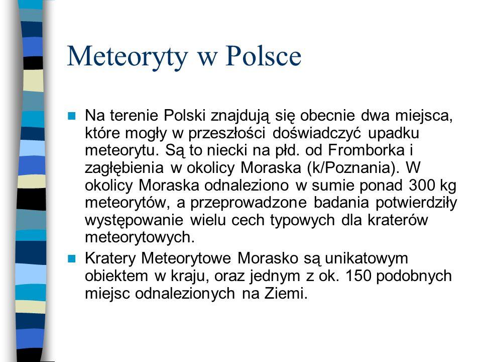 Meteoryty w Polsce