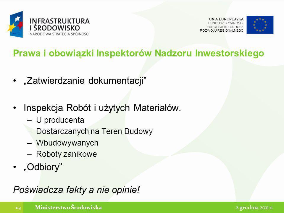 Prawa i obowiązki Inspektorów Nadzoru Inwestorskiego