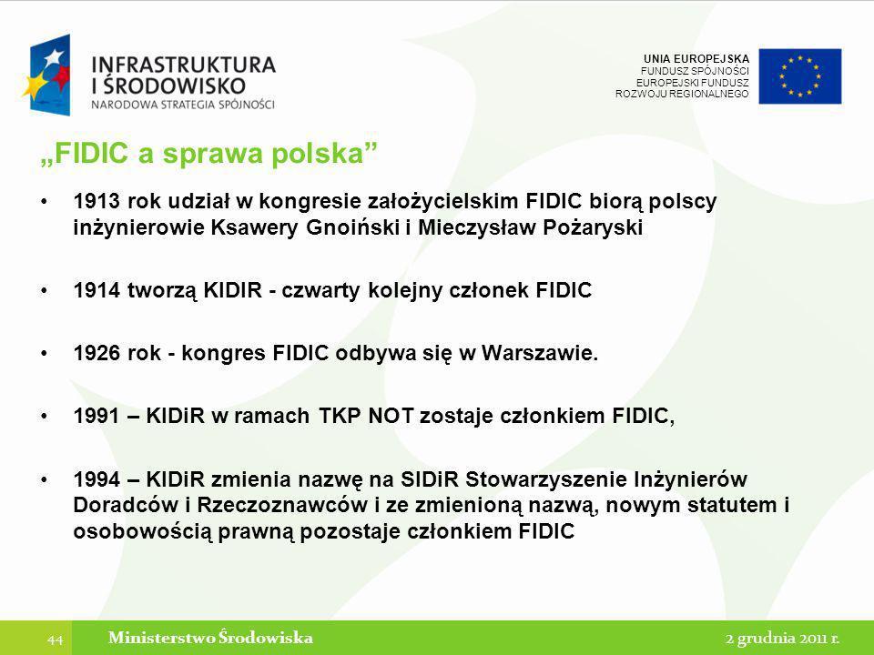 """""""FIDIC a sprawa polska"""