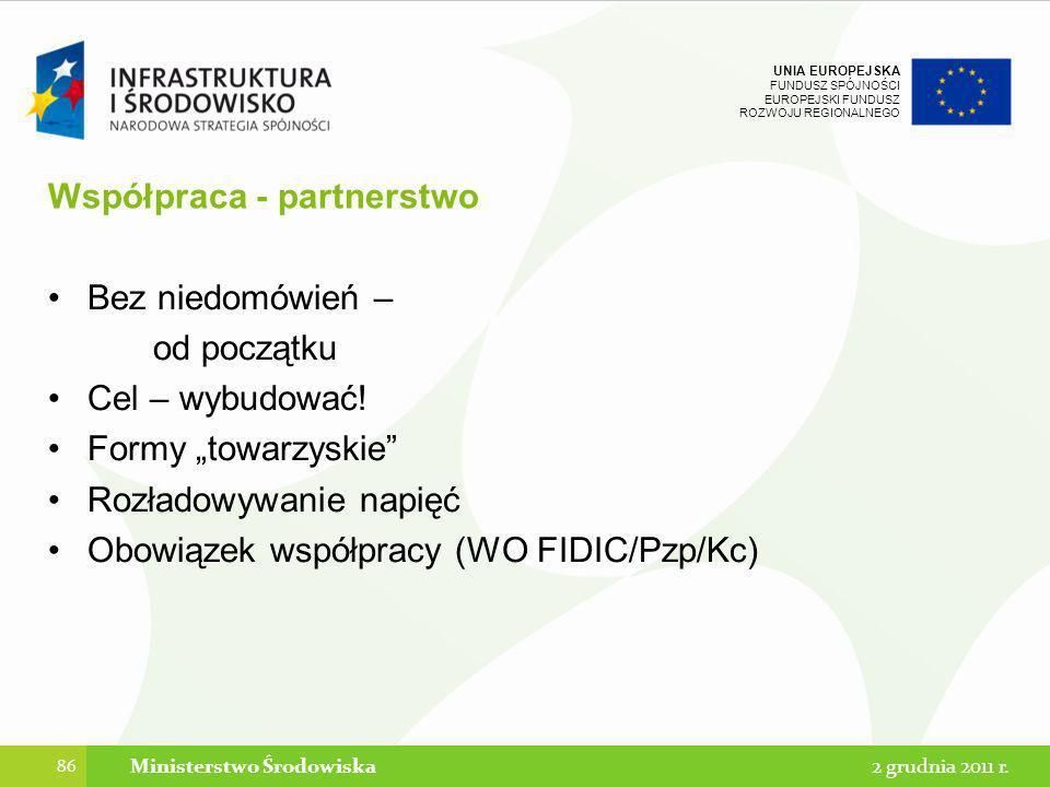 Współpraca - partnerstwo