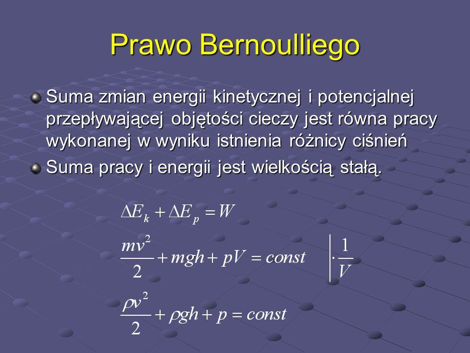 Prawo Bernoulliego