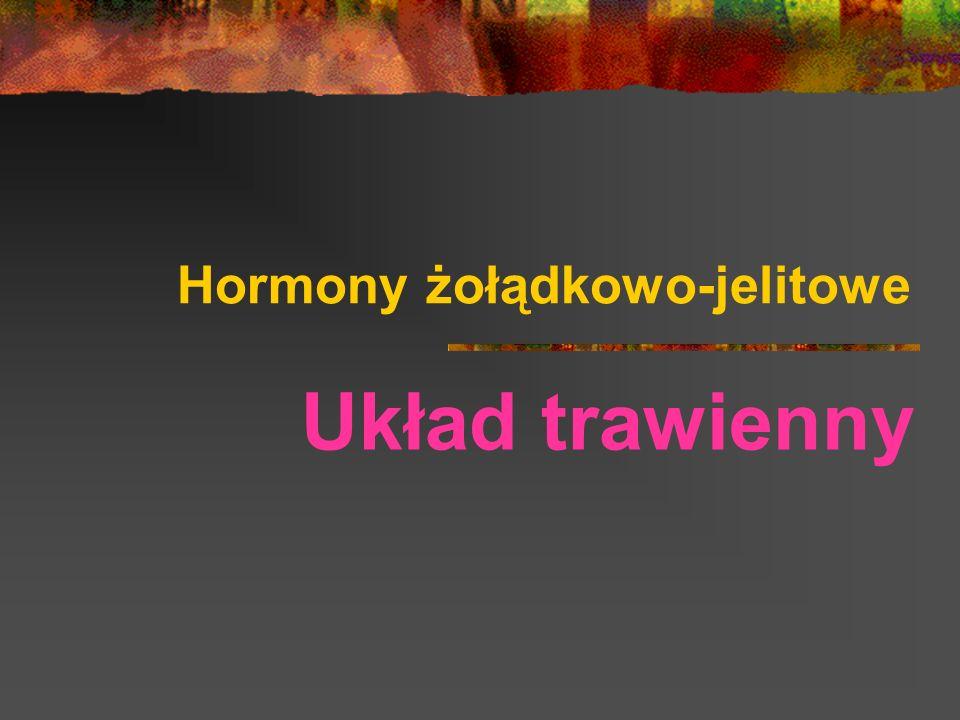 Hormony żołądkowo-jelitowe