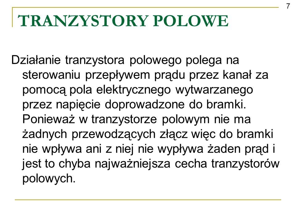7 TRANZYSTORY POLOWE.