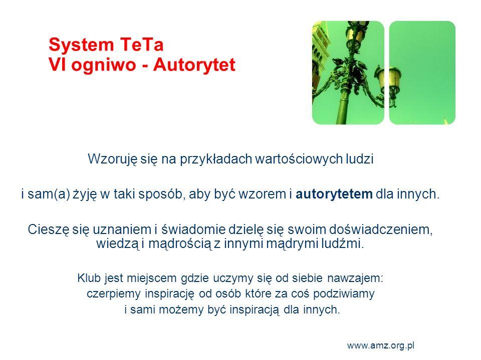 System TeTa VI ogniwo - Autorytet