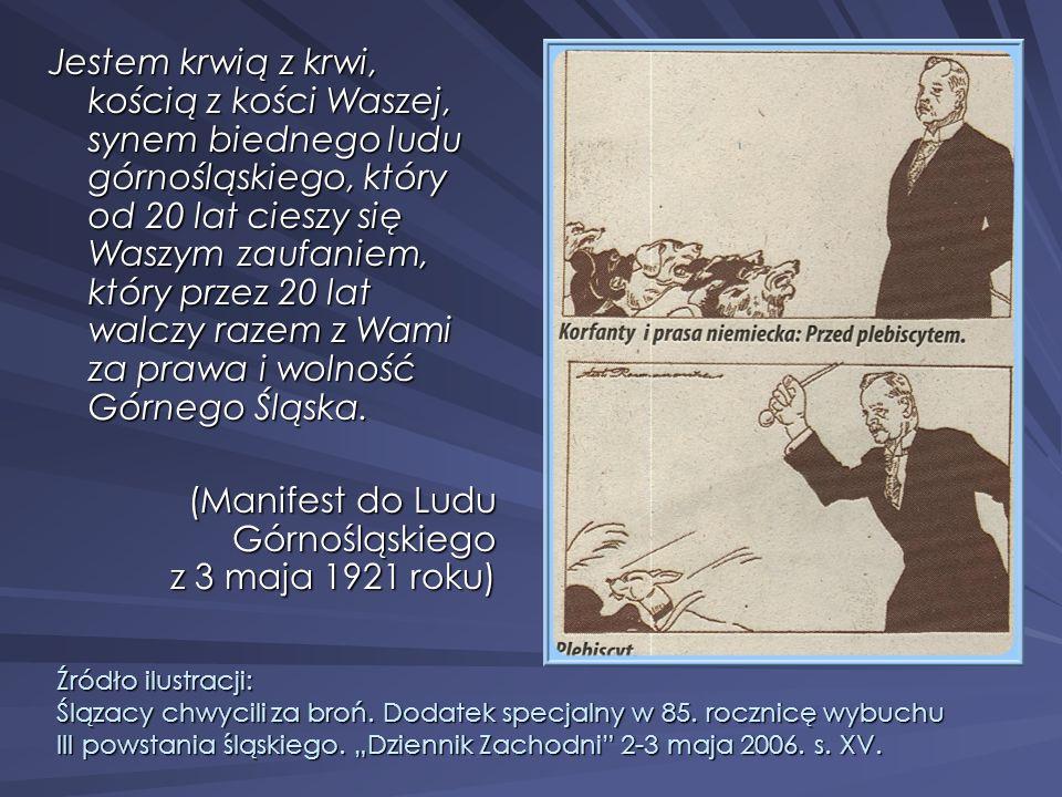 (Manifest do Ludu Górnośląskiego z 3 maja 1921 roku)