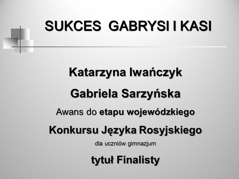 Konkursu Języka Rosyjskiego