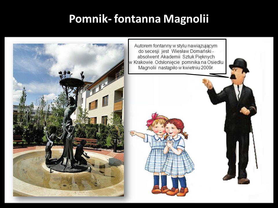 Pomnik- fontanna Magnolii
