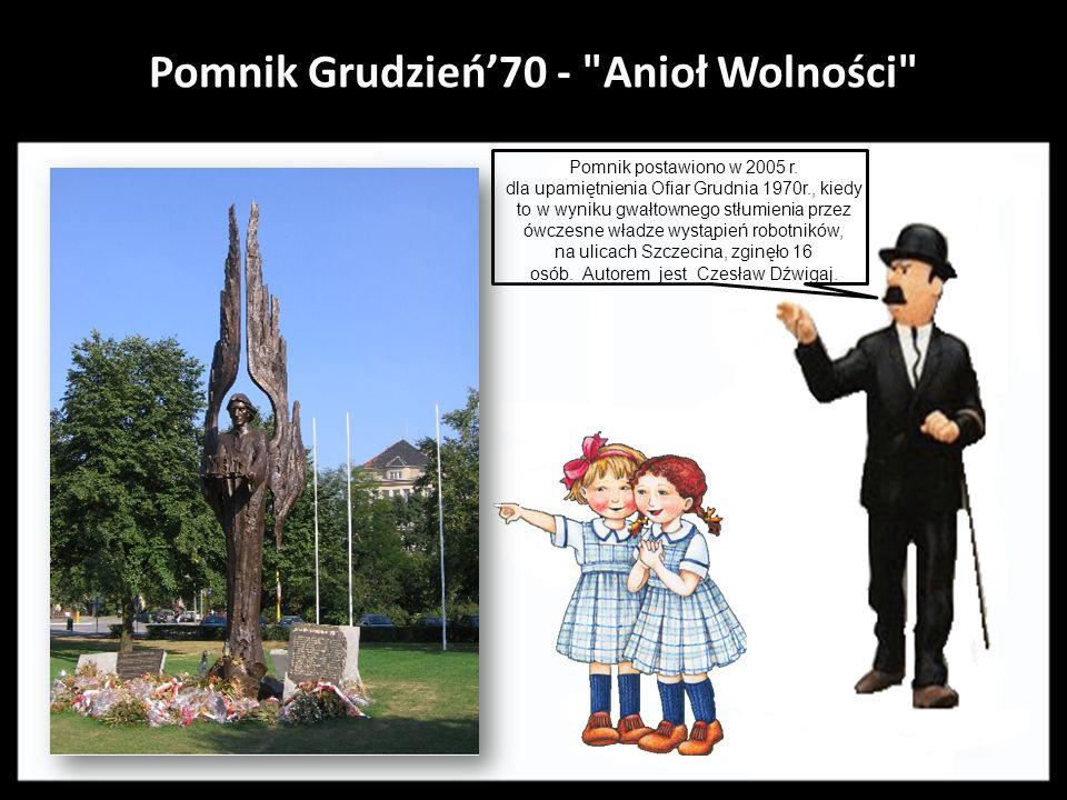 Pomnik Grudzień'70 - Anioł Wolności