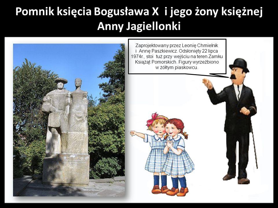Pomnik księcia Bogusława X i jego żony księżnej Anny Jagiellonki
