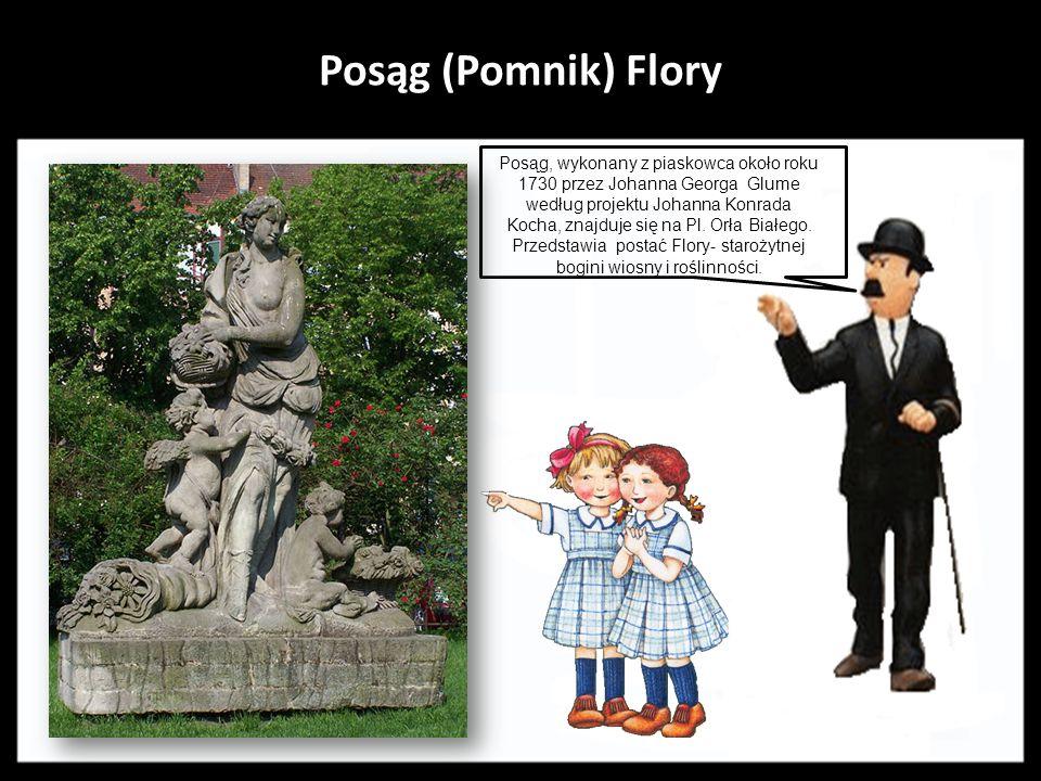 Posąg (Pomnik) Flory .