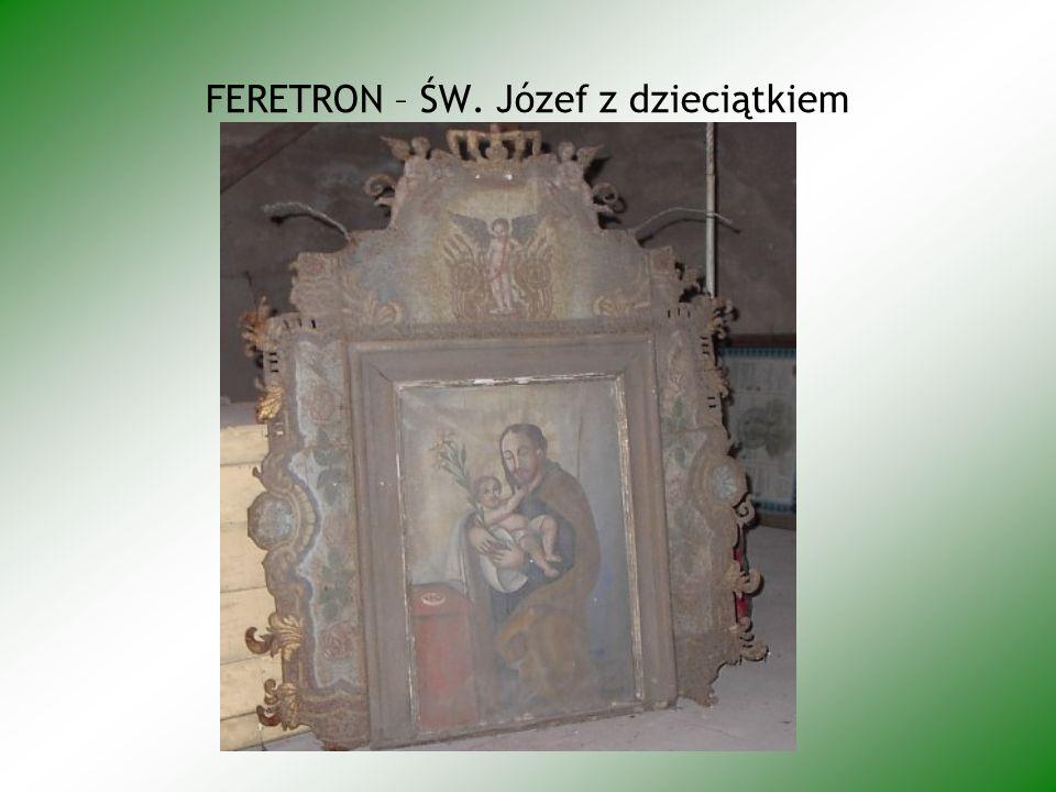FERETRON – ŚW. Józef z dzieciątkiem