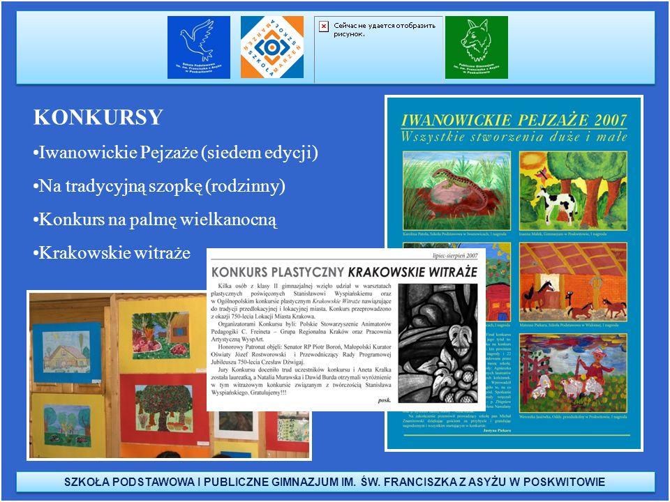 KONKURSY Iwanowickie Pejzaże (siedem edycji)