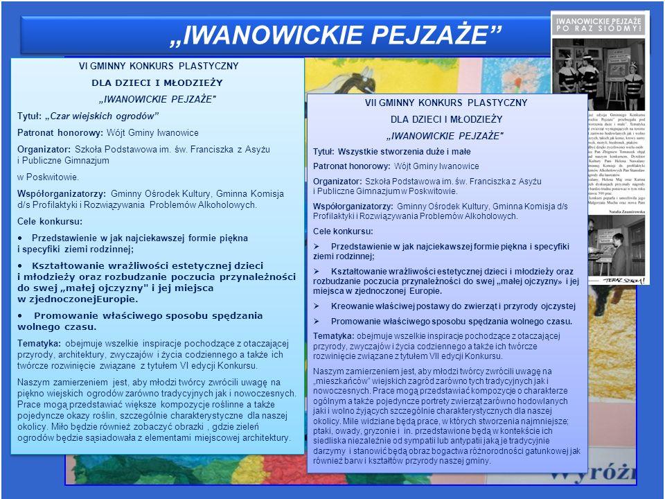 """""""IWANOWICKIE PEJZAŻE"""