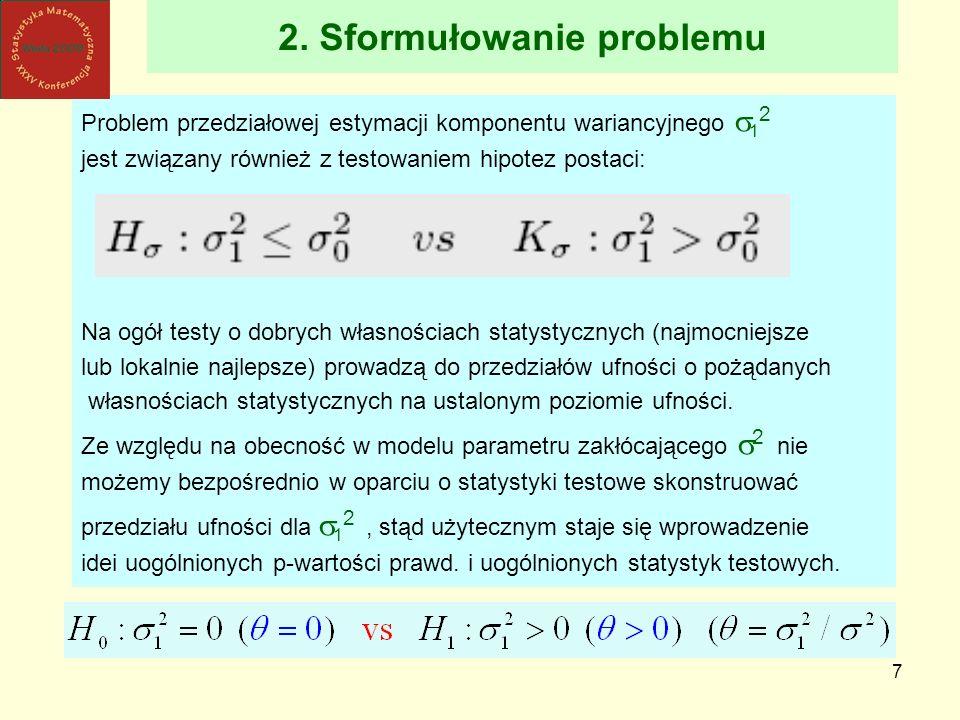 2. Sformułowanie problemu