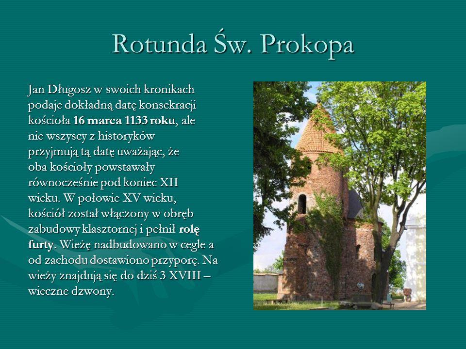 Rotunda Św. Prokopa Jan Długosz w swoich kronikach