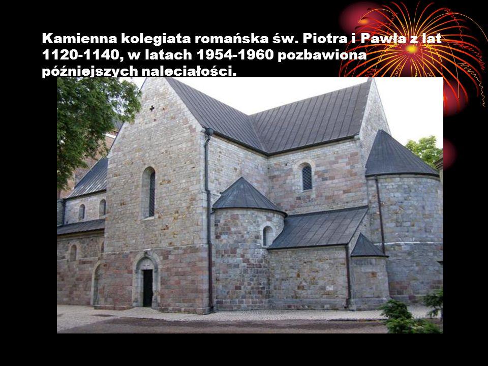 Kamienna kolegiata romańska św