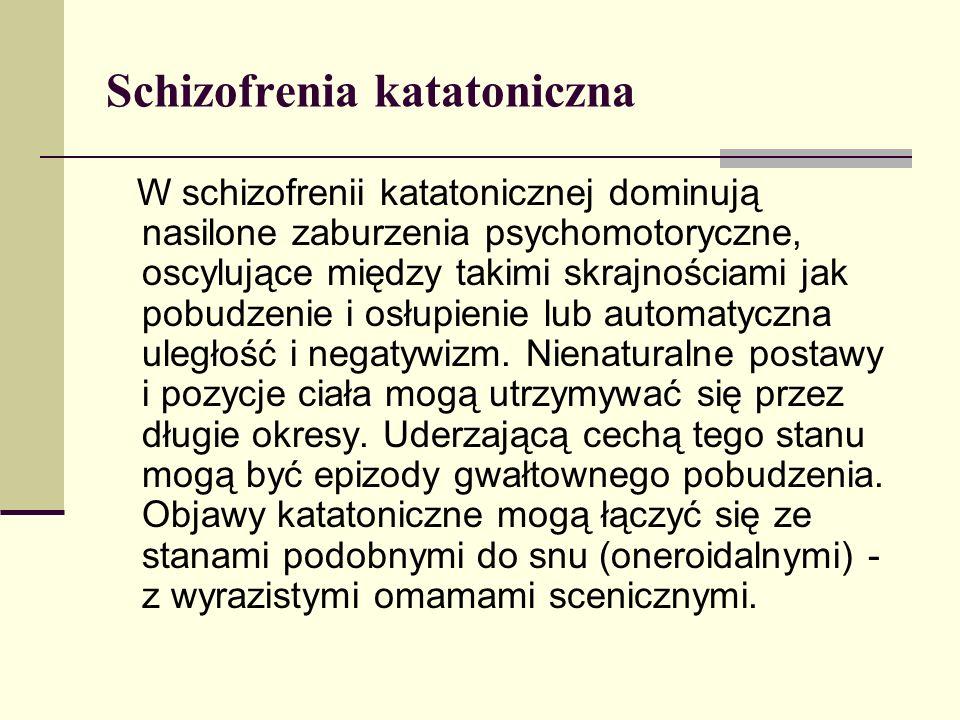 Schizofrenia katatoniczna