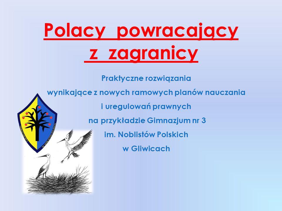 Polacy powracający z zagranicy