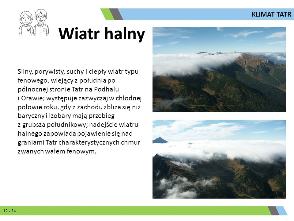 Wiatr halny KLIMAT TATR