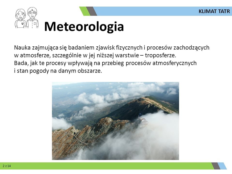 KLIMAT TATR Meteorologia.