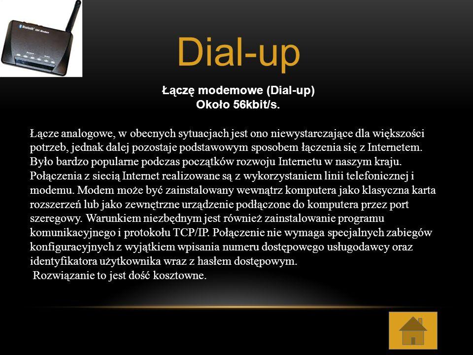 Łączę modemowe (Dial-up)