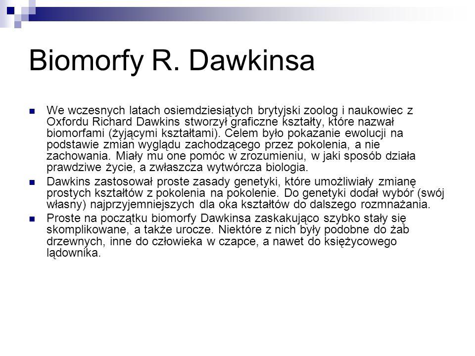 Biomorfy R. Dawkinsa