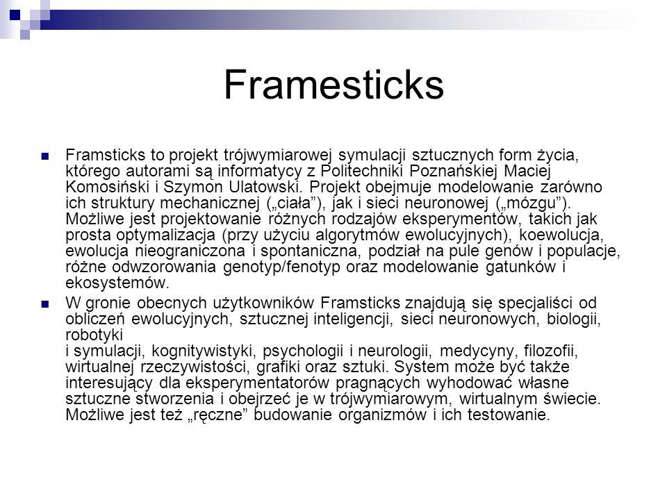 Framesticks