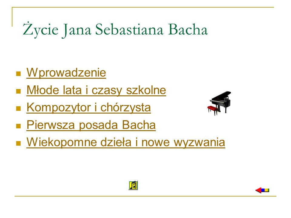 Życie Jana Sebastiana Bacha