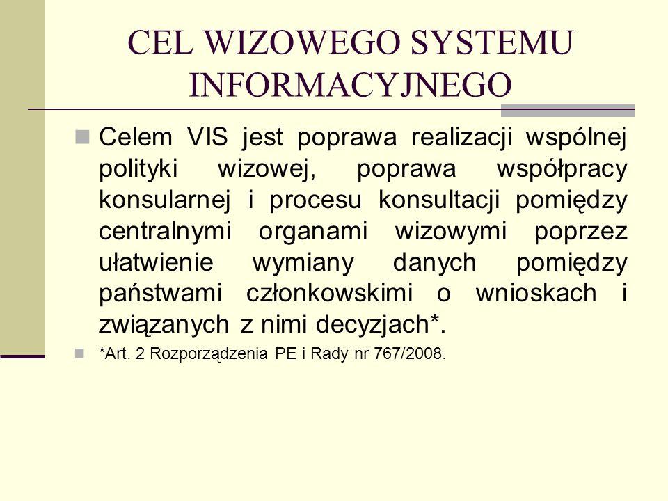 CEL WIZOWEGO SYSTEMU INFORMACYJNEGO