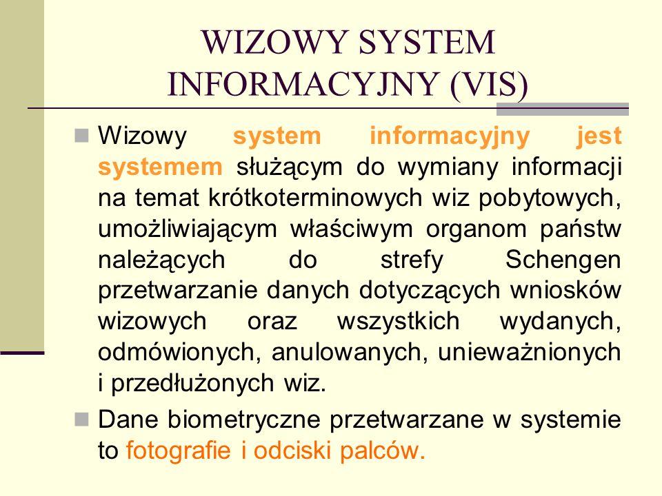 WIZOWY SYSTEM INFORMACYJNY (VIS)
