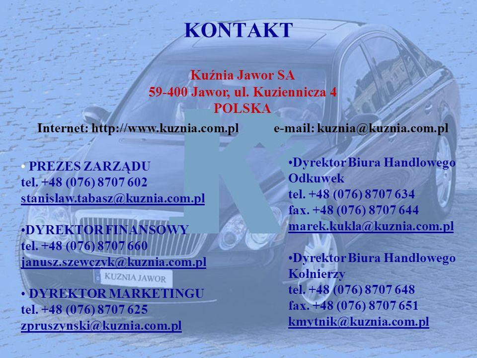 Internet: http://www.kuznia.com.pl e-mail: kuznia@kuznia.com.pl