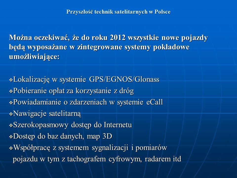 Przyszłość technik satelitarnych w Polsce